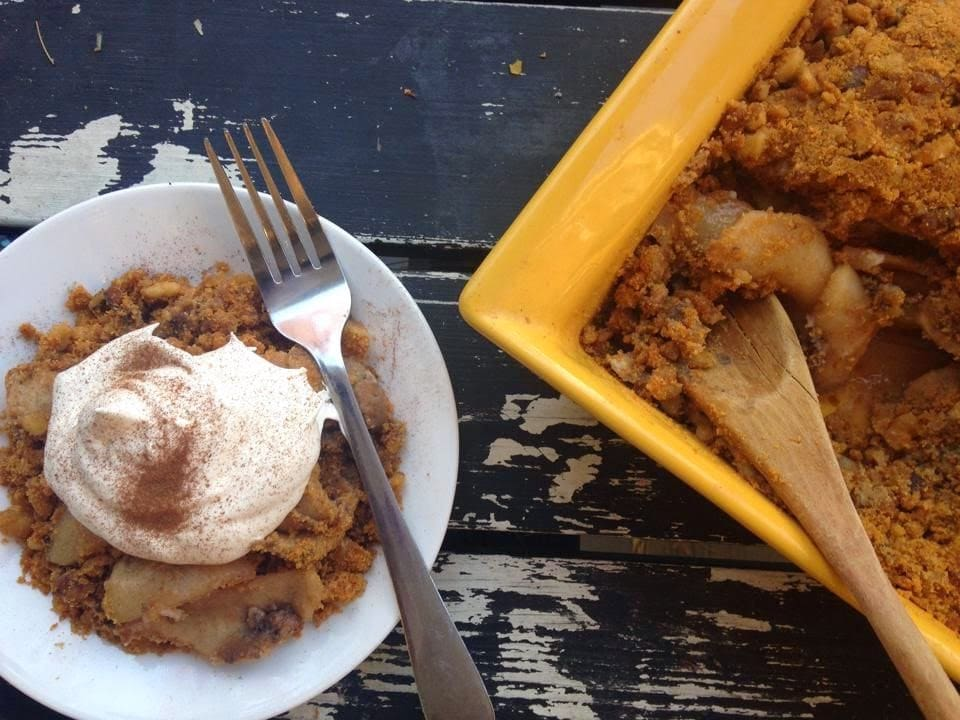 Wls Friendly Apple Crumble Bariatric Foodie