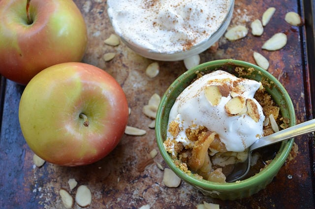 apple crumble ramekin 2