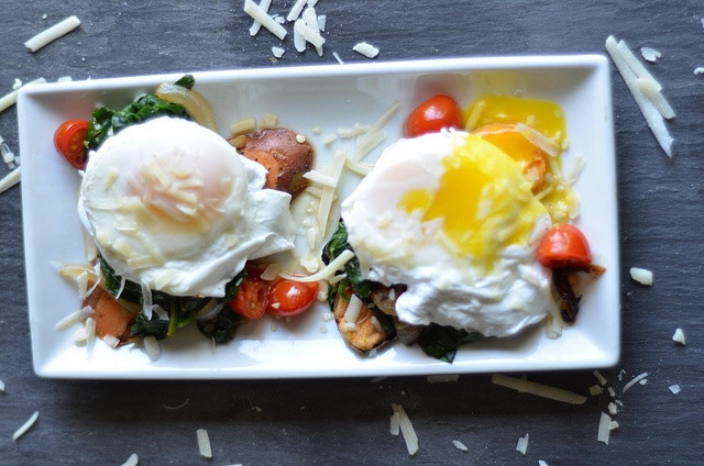 Sweet Potato Toast With Spinach Poached Eggs Bariatric Foodie